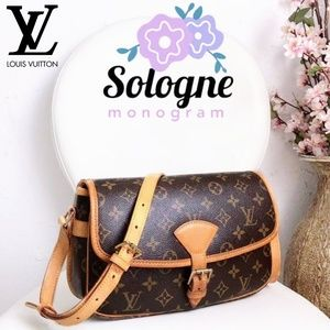 🆕Louis Vuitton Monogram Canvas Sologne Crossbody